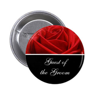 Groom's Guest Wedding Reception Identification 6 Cm Round Badge