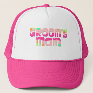 Groom's Mom Gifts and T-shirts Trucker Hat