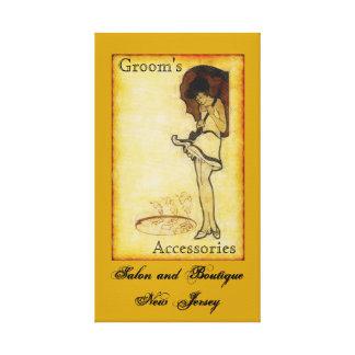 Groom's NJ Canvas Print