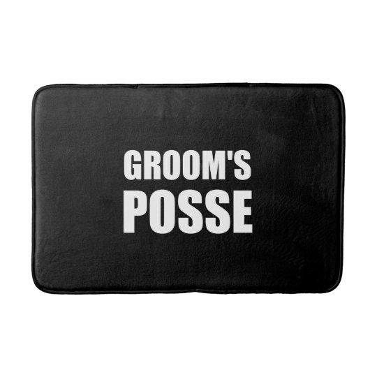 Grooms Posse Bath Mat