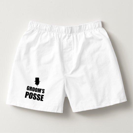 Grooms Posse Boxers