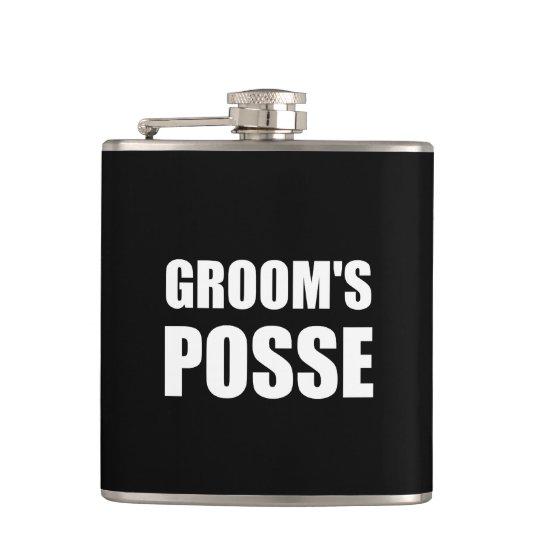 Grooms Posse Flask