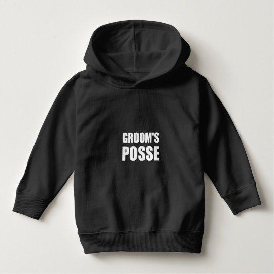 Grooms Posse Hoodie