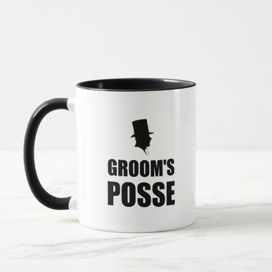 Grooms Posse Mug