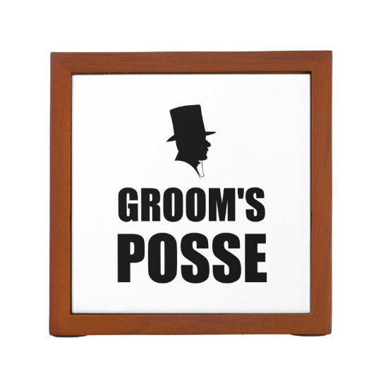 Grooms Posse Pencil/Pen Holder