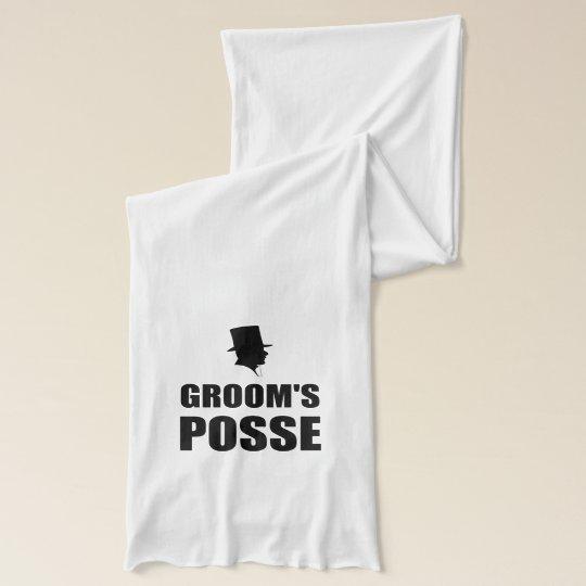 Grooms Posse Scarf