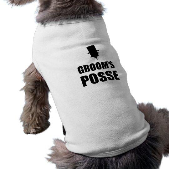 Grooms Posse Shirt