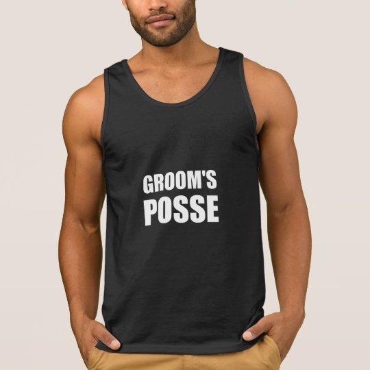 Grooms Posse Singlet