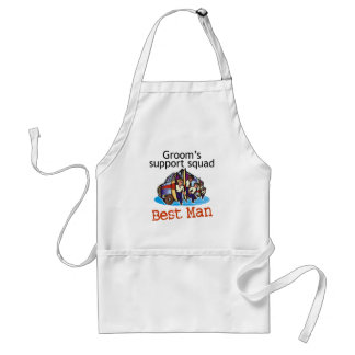Groom's Squad Best Man Standard Apron
