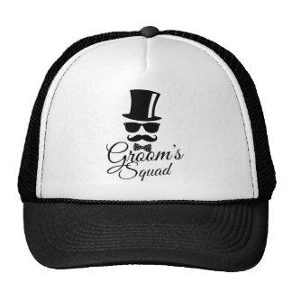 Groom's squad cap