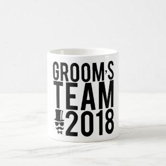 Groom's team 2018 coffee mug