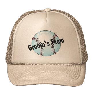 Groom's Team (Baseball) Trucker Hats