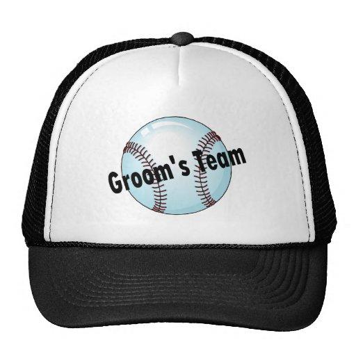 Grooms Team Hats