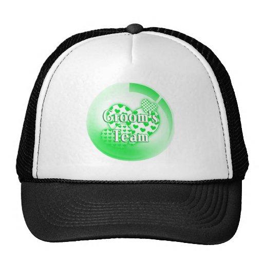 Grooms Team Hat / Cap