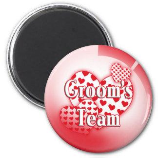 Grooms Team Magnet