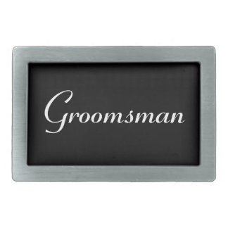 Groomsman Belt Buckle