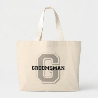 Groomsman Groom Cheer Tote Bag