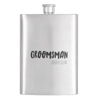 Groomsman Hip Flask