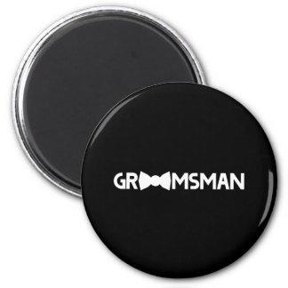 Groomsman Refrigerator Magnet