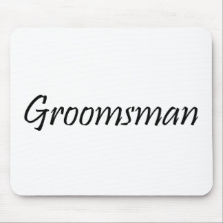 Groomsman Mouse Pad