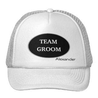 Groomsman Team Groom Personalized Cap