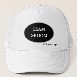 Groomsman Team Groom Personalized Trucker Hat