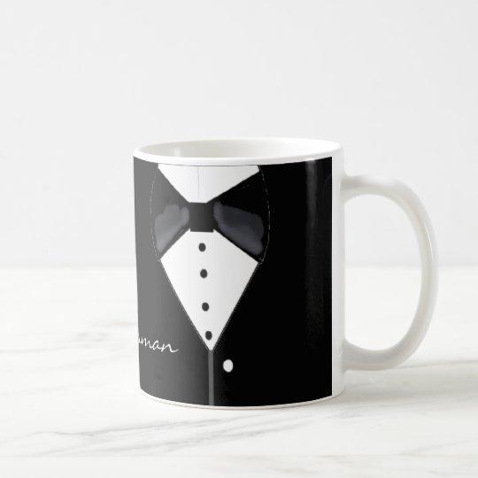 Groomsman Tuxedo Design Coffee Mug