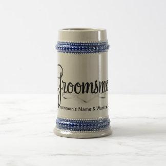 Groomsman Wedding Gift Beer Stein