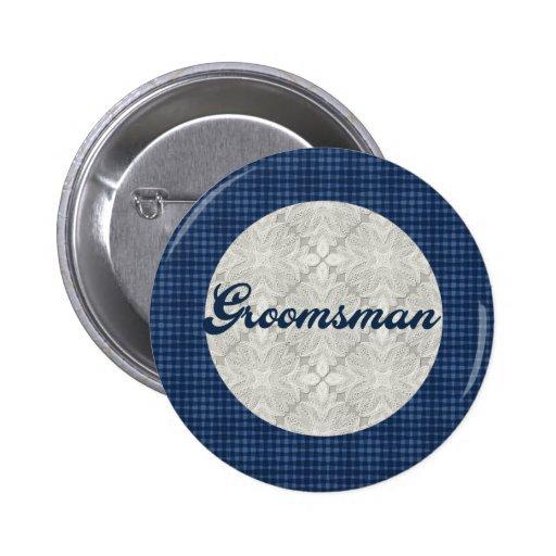 Groomsmen Button