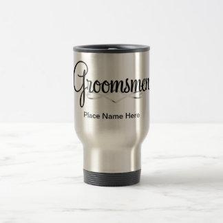 Groomsmen TravelMug Gift Travel Mug