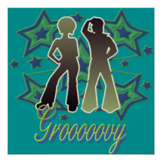 Grooooovy - Poster
