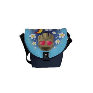 Groot In Love Emoji Commuter Bags