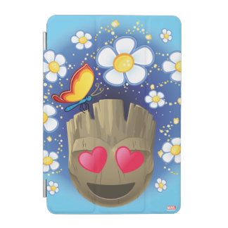Groot In Love Emoji iPad Mini Cover
