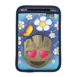 Groot In Love Emoji iPad Mini Sleeve