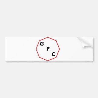 Groove factory conobus logo bumper sticker