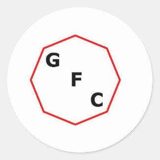 Groove factory conobus logo round sticker