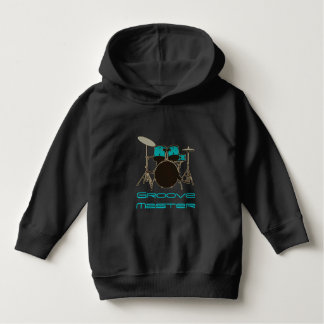 Groove Master Drummer ~ Drums and Music Hoodie