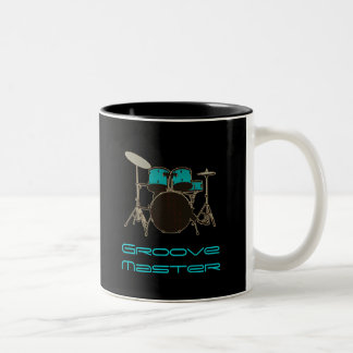Groove Master Drummer ~ Drums and Music Mug