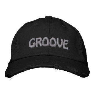 GROOVE SILVER EMBROIDERED HAT