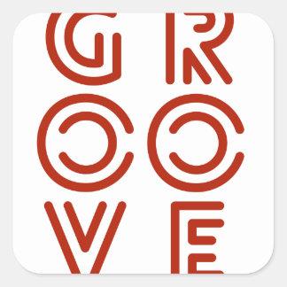 Groove Square Sticker