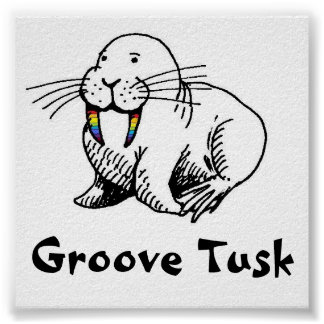 Groove Tusk poster