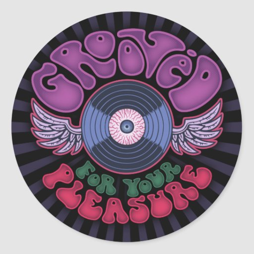 Grooved Stickers