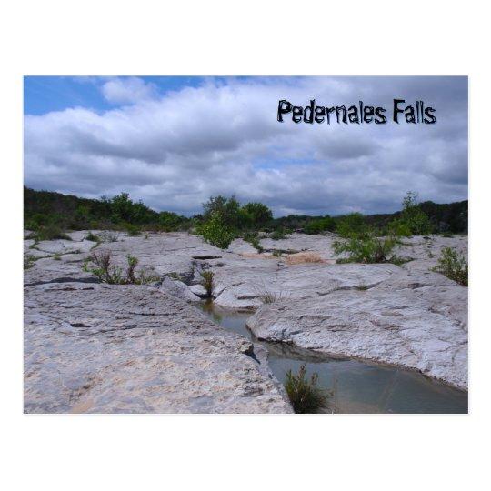 Grooves at Pedernales Falls Postcard
