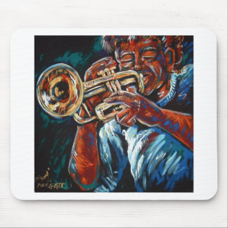 grooving trumpet mouse pad