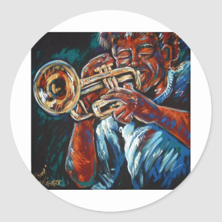 grooving trumpet stickers