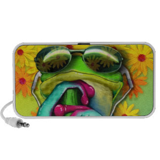 Groov'n Frog Mini Speakers
