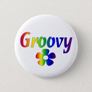 groovy 6 cm round badge