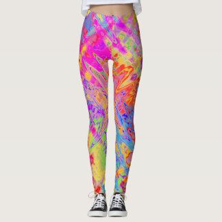 Groovy Abstract Leggings
