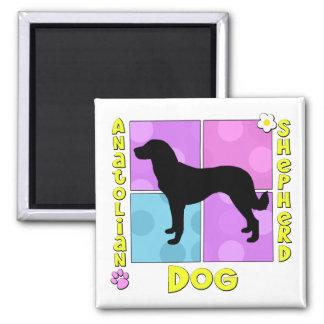 Groovy Anatolian Shepherd Dog Magnet