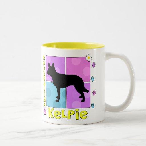 Groovy Australian Kelpie Mug